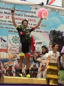 Loh Sea Keong of OCBC Singapore Pro Cycling Team wins Stage 2.