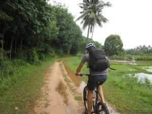 Off-road riding on Koh Yao Noi