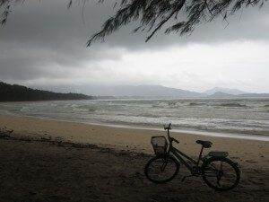 Nearby Layan beach (on a stormy afternoon)
