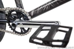 Crankset and pedalwtmk