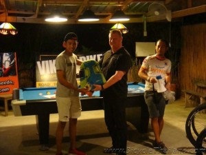 2nd place winner Hua Hin Alleycat 2013