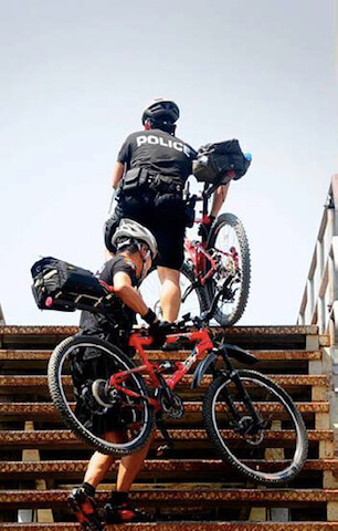 Ayutthaya Police Bike Patrol3