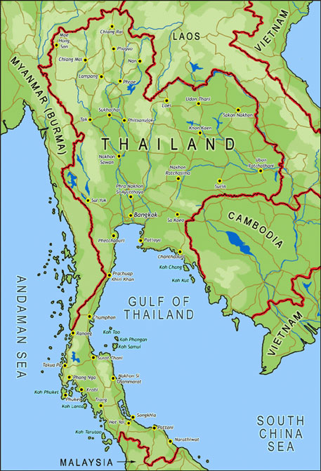 Thai Map Touring bike 1