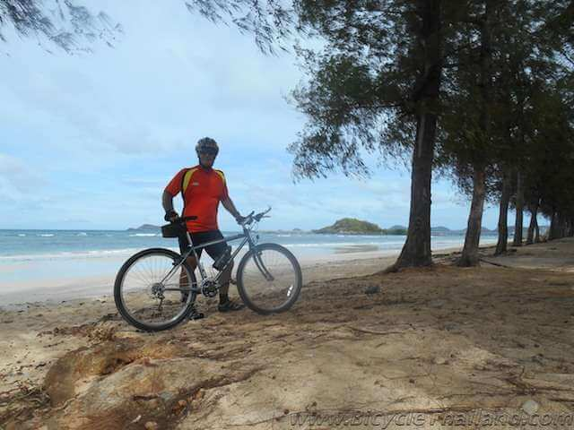 Beaches My Thai Bicycle Commute