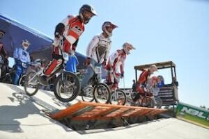 BMX elevated start gate