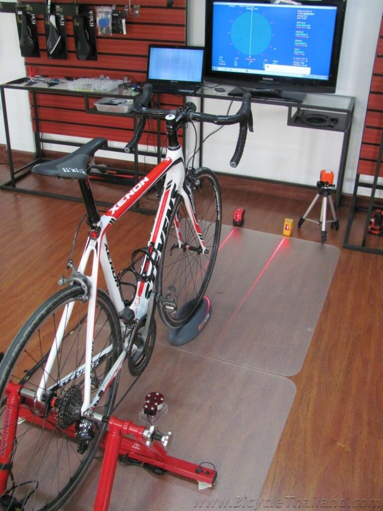 JJ Cycling Centre bike fit 2