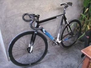 Ranee Velo Restaurant Roel Cinelli bike