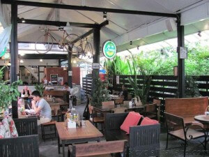 Ranee Velo Restaurant main dining area