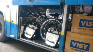 Thailand bicycles on bus 2