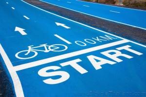 Sky Lane start of track
