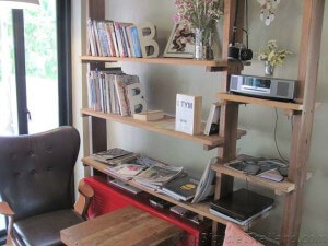 Velo Cafe at Hua Hin book reading nook