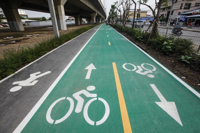 Plans to cancel bike lanes in Bangkok and enforce laws image 1