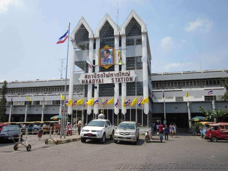 Hat Yai train station front