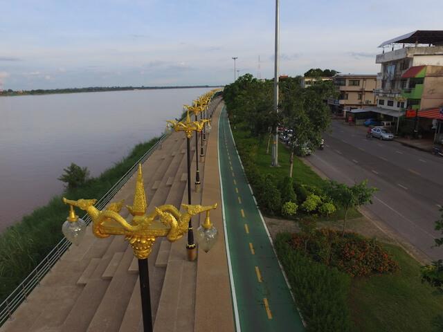 Nakhon Phanom 60km bike lane image 1.JPG
