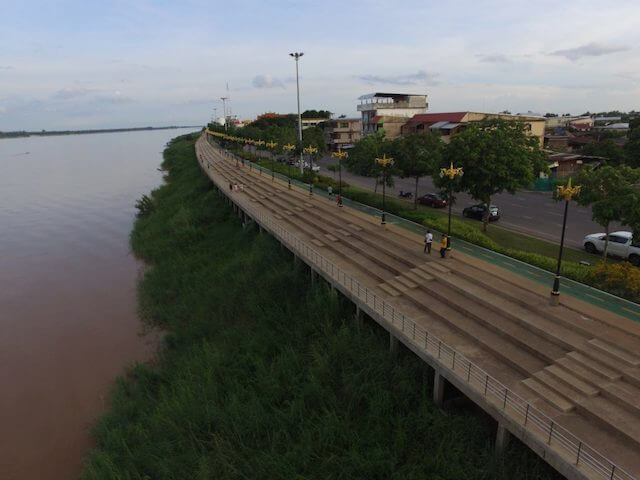 Nakhon Phanom 60km bike lane Image 2