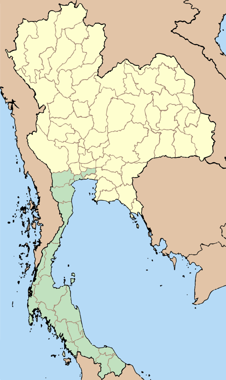 Southern Thailand GPS data - Cycling Routes & Waypoints